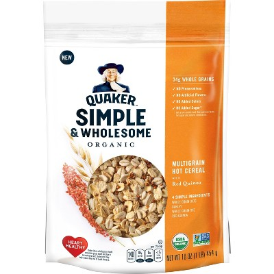 Oatmeal: Quaker Simple & Wholesome
