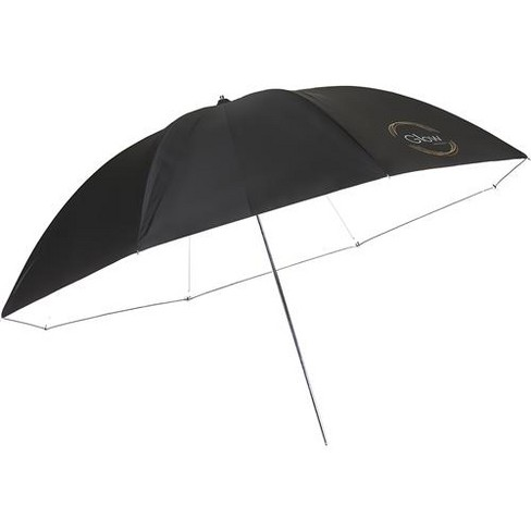Glow 72  White Parabolic Umbrella with Black Back - Made with Optical White Viscoelastic Polymer Fabric Material - image 1 of 4