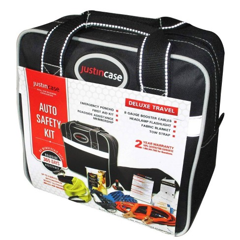 Deluxe Safety Kit Black - Justin Case - image 1 of 3
