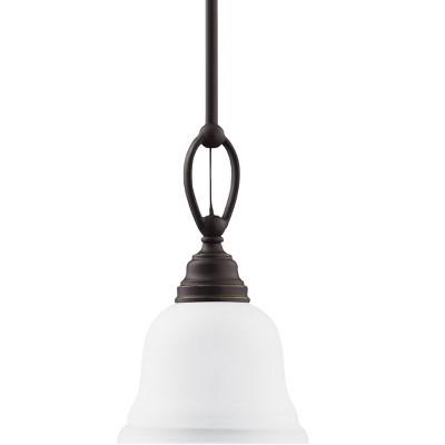 Generation Lighting Wheaton 1 light Heirloom Bronze Pendant 61625-782