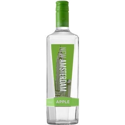 New Amsterdam Apple Flavored Vodka - 750ml Bottle