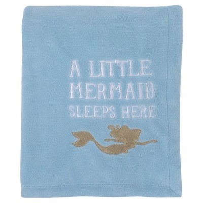 Disney© Fleece Blanket - Ariel Sea Princess - Coral