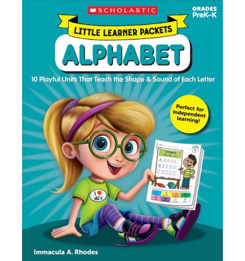 Alphabet, Grades PreK-K (Paperback) (Immacula A. Rhodes) - image 1 of 1