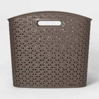 Y-Weave Decorative Bin Brown XL - Room Essentials™