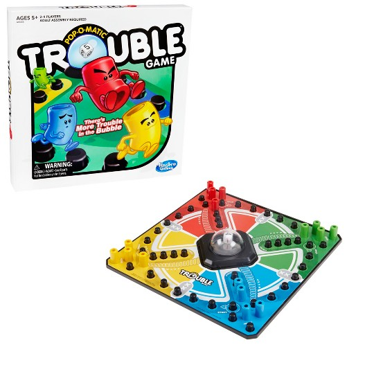 Trouble Board Game, Kids Unisex image number null