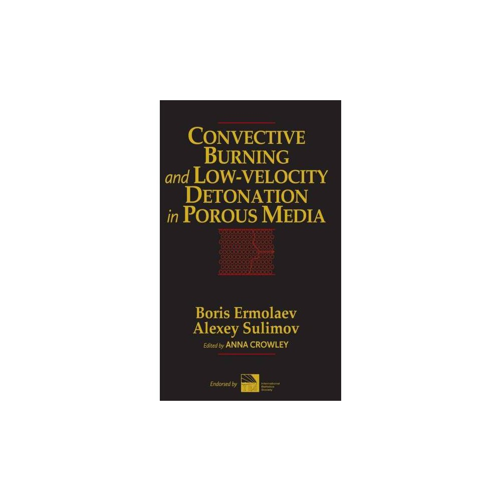 Convective Burning and Low-Velocity Detonation in Porous Media - (Hardcover)