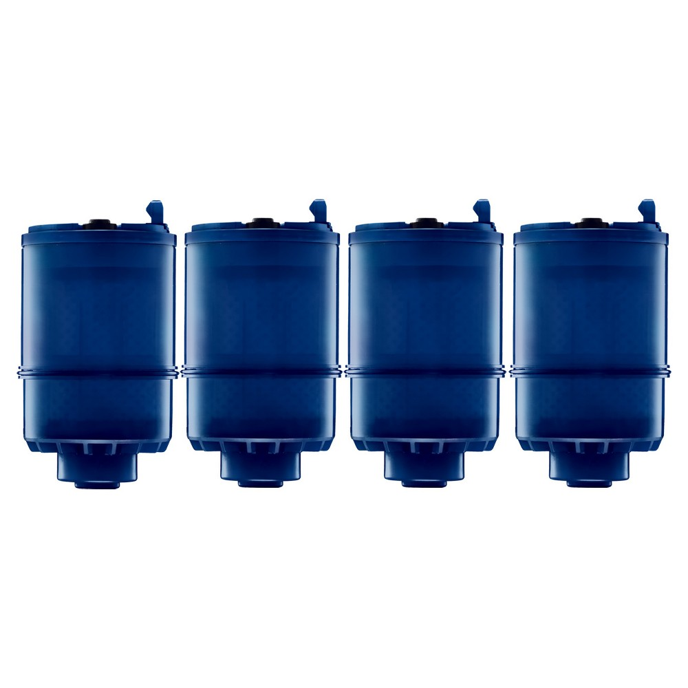 Pur MineralClear Replacement Faucet Filter 4pk, Blue