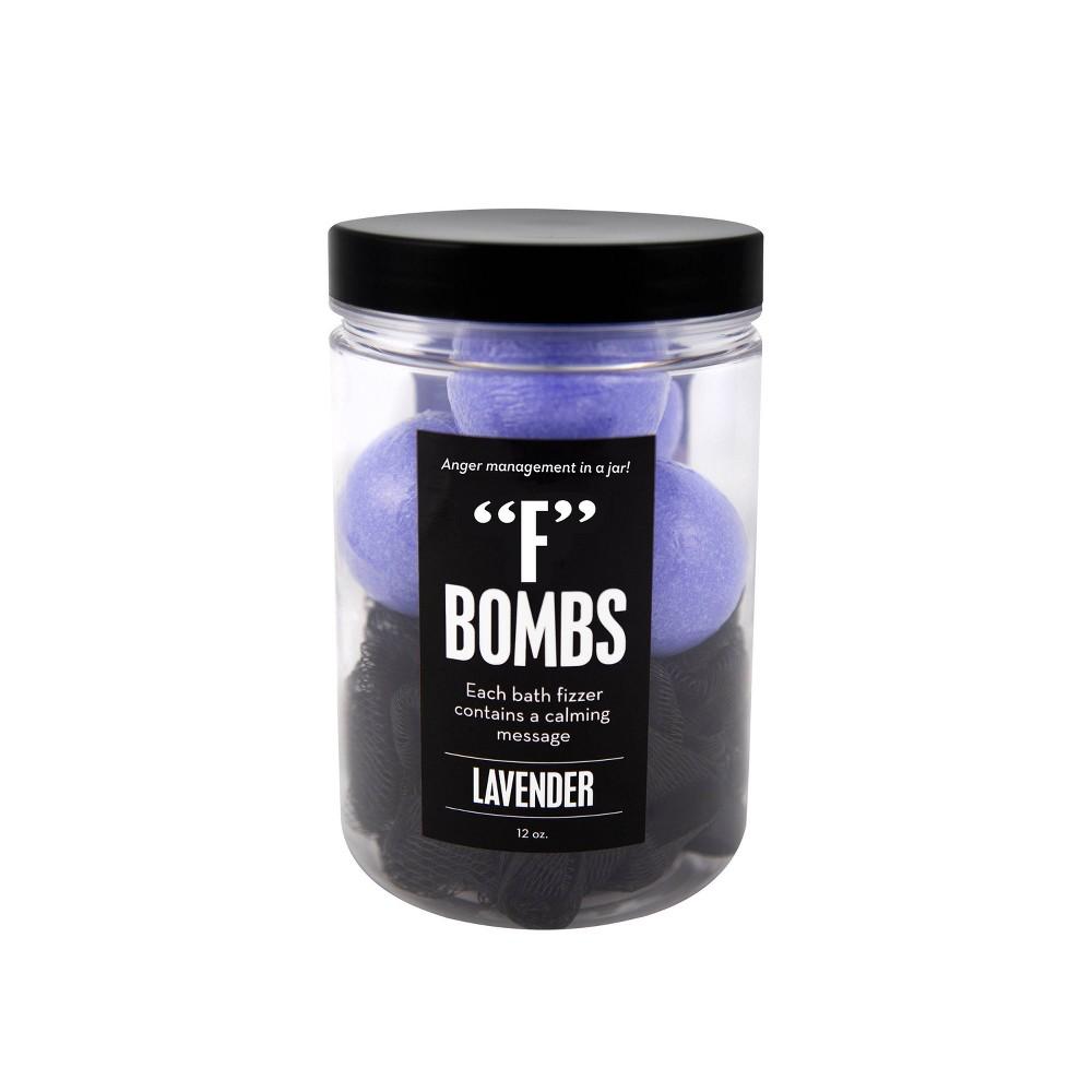 """Image of """"Da Bomb Bath Fizzers """"""""F"""""""" Bath Bomb Jar - 12oz"""""""