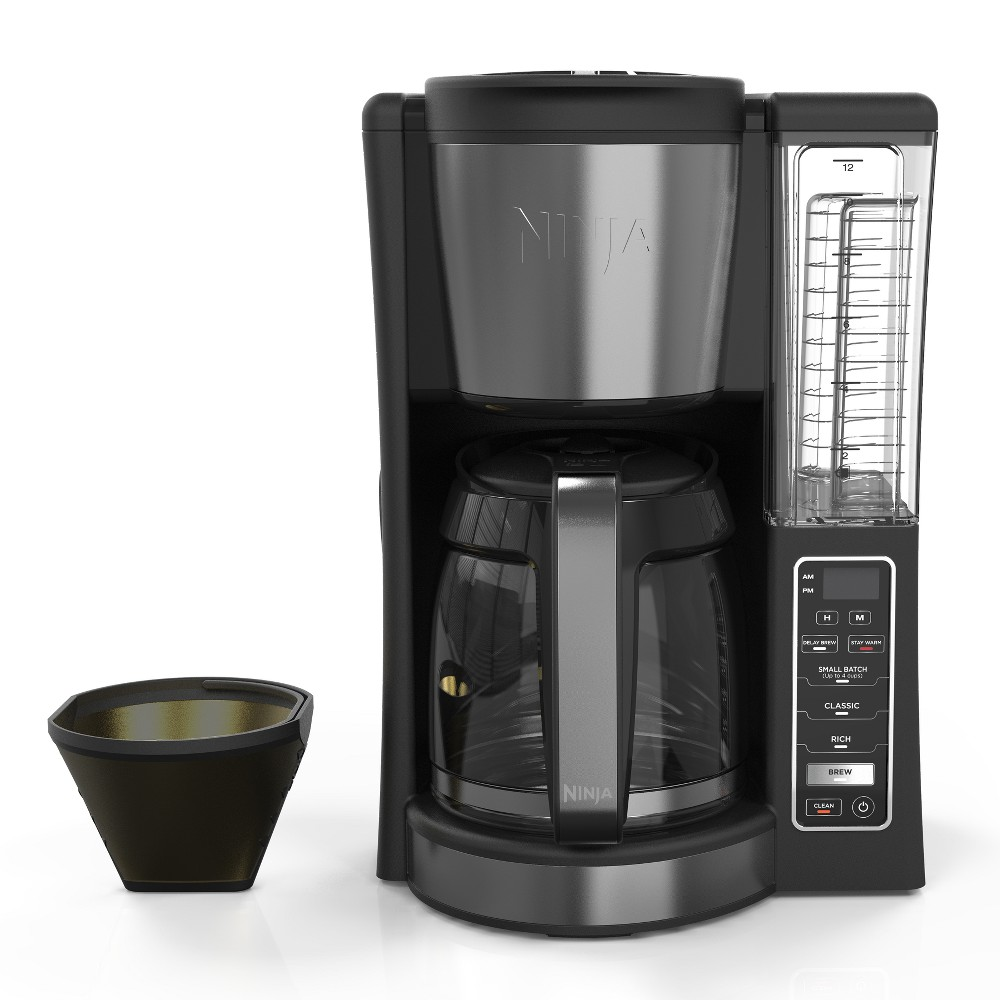 Ninja 12 Cup Programmable Coffee Brewer – CE201, Black 53654055