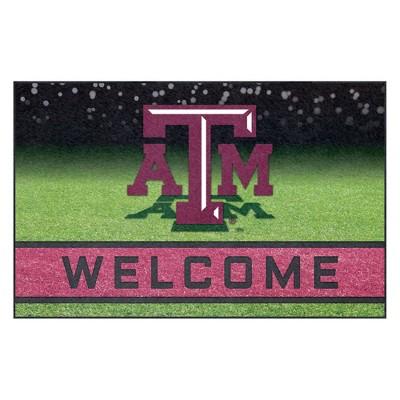 "NCAA Texas A&M Aggies Crumb Rubber Door Mat 18""x30"""
