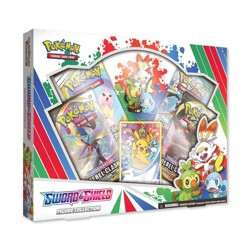 Pokemon Trading Card Game Sword and Shield Figure Box