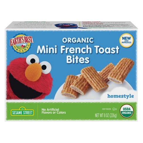 Earth' s Best Organic Homestyle Frozen Mini French Toast Bites - 8oz - image 1 of 1