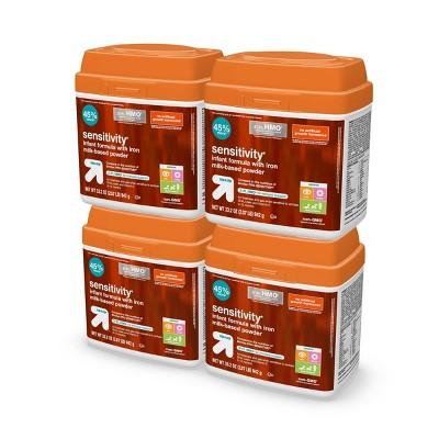 Non-GMO Sensitivity Infant Formula Powder with Iron - 33.2oz/4pk Each - Up&Up™