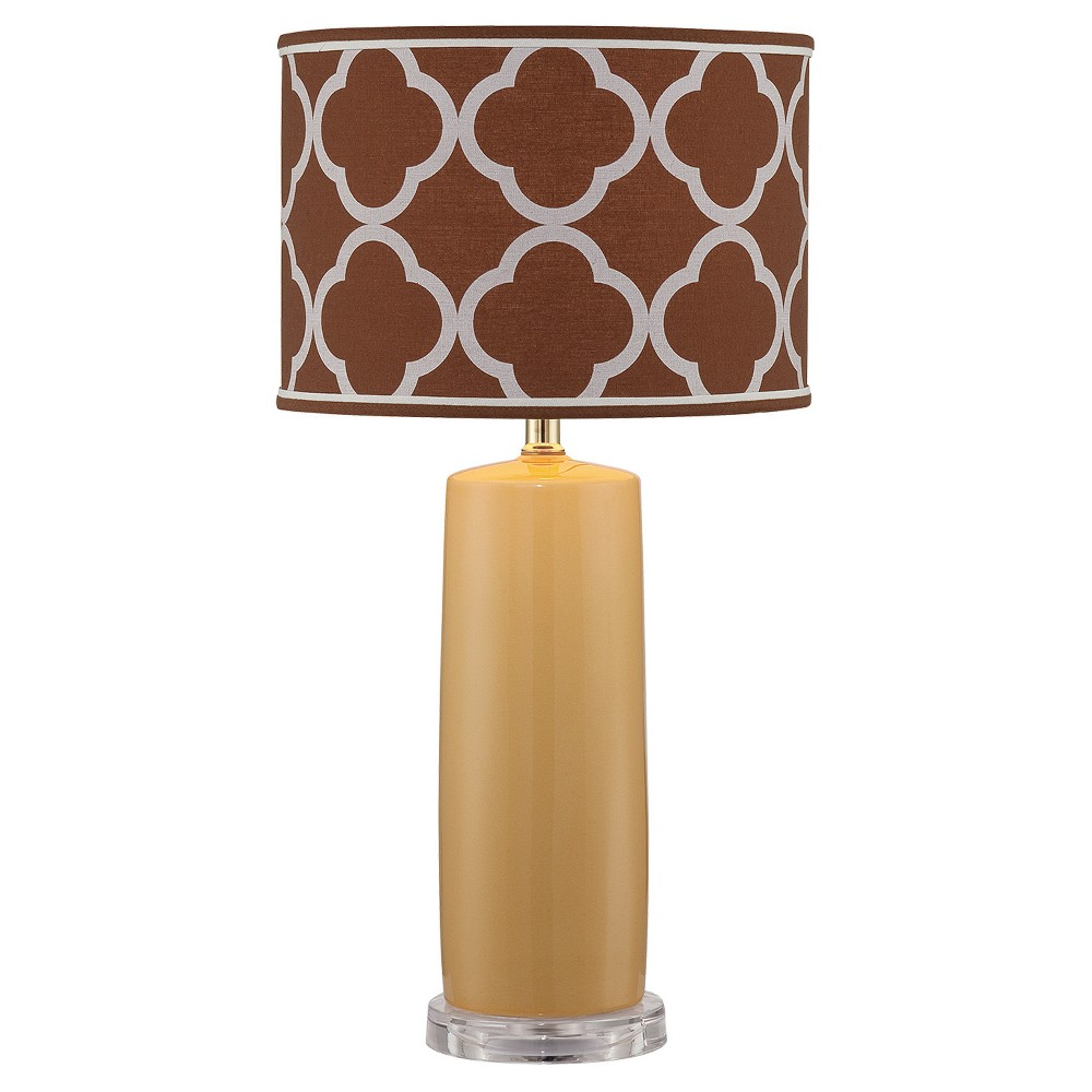 Monisha Table Lamp Mustard (Yellow) (Includes Energy Efficient Light Bulb) - Lite Source
