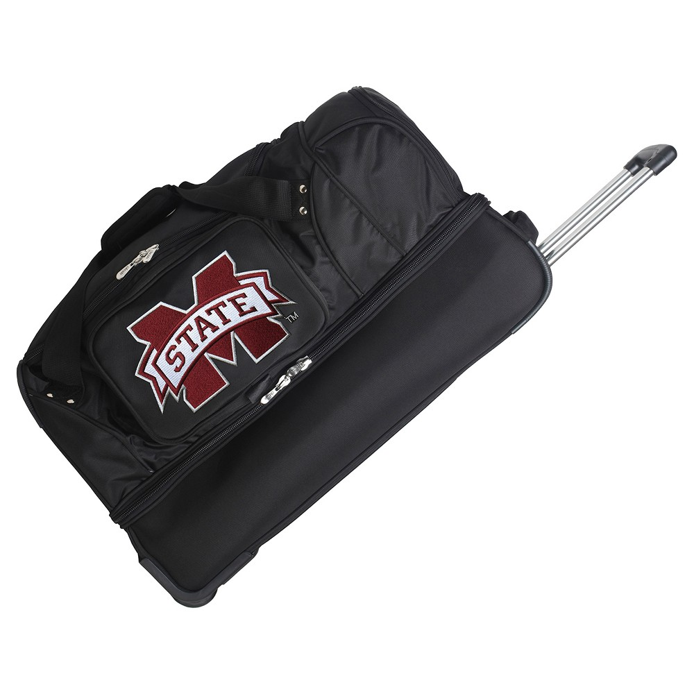 NCAA Mississippi State Bulldogs 27'' Rolling Drop Bottom Duffel Bag