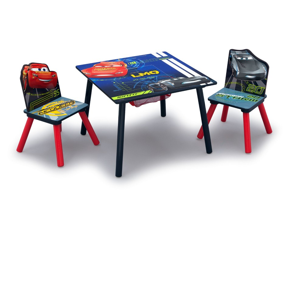Image of Disney Pixar Cars Table & Chair Set with Storage - Delta Children