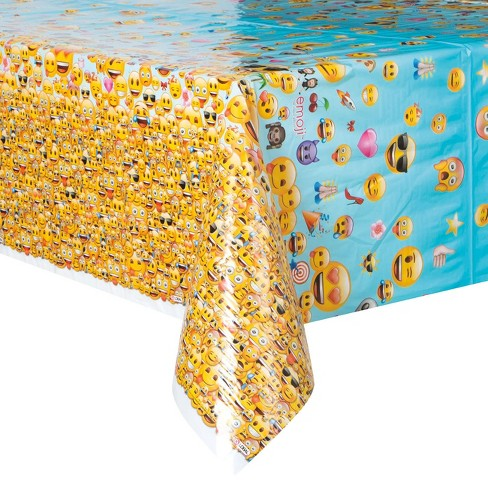 Emoji Table Cover Target