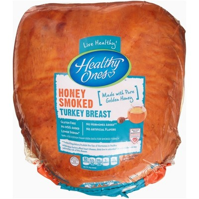 Healthy Ones Honey Smoked Turkey Breast - Deli Fresh Sliced - price per lb