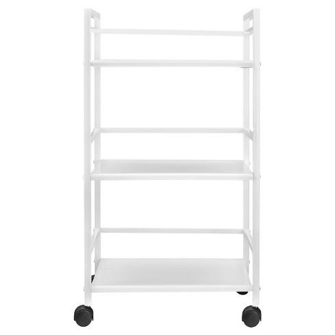 Trinity 3 Shelf Metal Rolling Utility Cart - Room & Joy - image 1 of 4