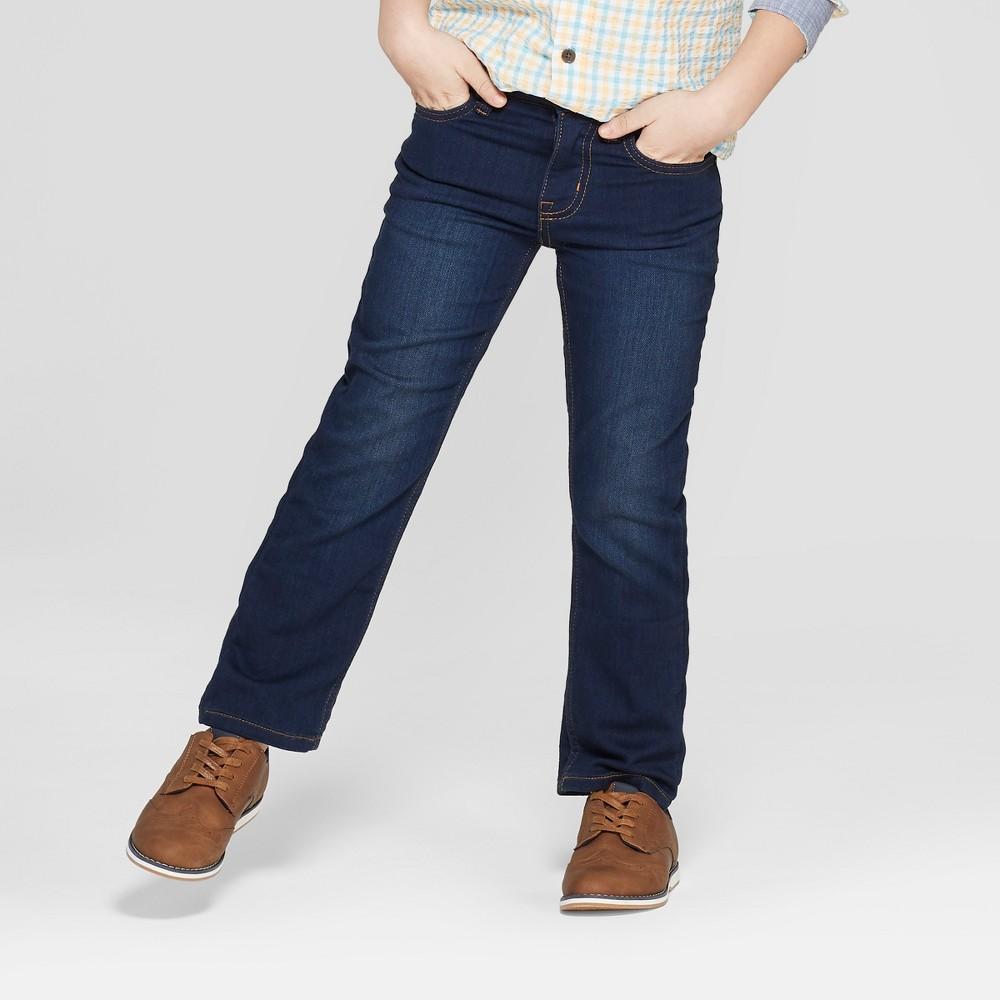 7abf7c24b Big Tall Boys Athletic Fit Jeans Cat Jack Dark Wash 16 Husky Blue