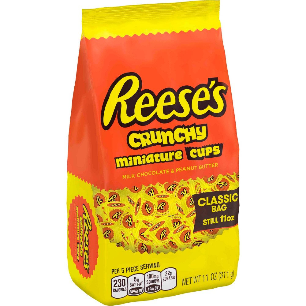 Reese's Miniature Crunchy Peanut Butter Cups Classic Bag - 11oz