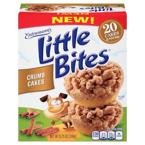 Entenmanns Little Bites Crumb Cakes Target