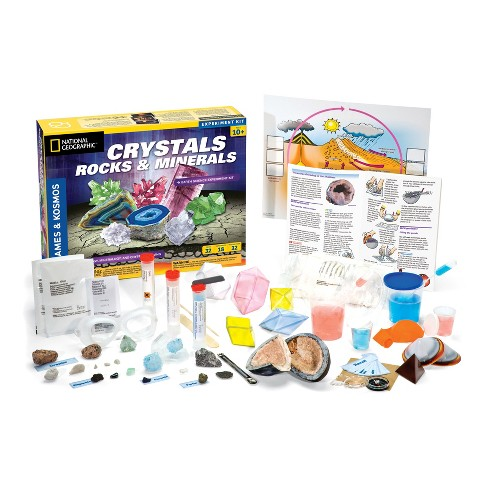 Crystals Rocks Minerals Geology Kit Target