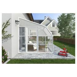 8'X16' Sun Room 2 Greenhouse - White - Palram