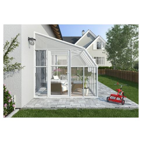 8'X20' Sun Room 2 Greenhouse - White - Palram - image 1 of 3
