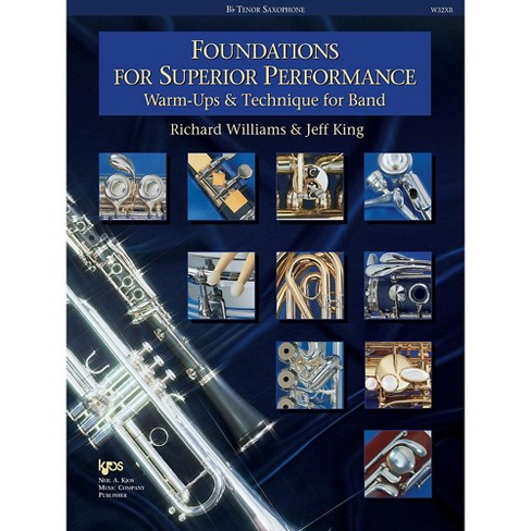KJOS Foundations for Superior Performance Tenor Sax - image 1 of 1