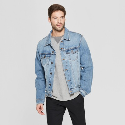 Men's Denim Trucker Jacket - Goodfellow & Co™