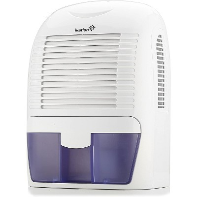 Ivation 1.25 Pint Mid-Size Thermo-Electric Dehumidifier For Spaces Up to 2,200 Cubic Feet