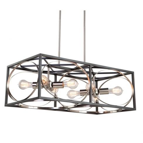 "Artcraft Lighting CL15098 Corona 8 Light 30"" Wide Linear Chandelier - image 1 of 1"