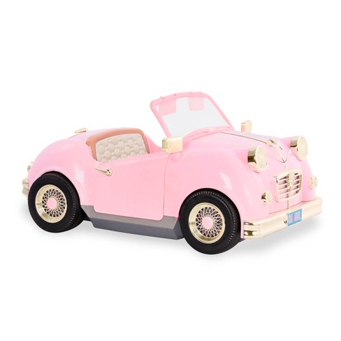 """Our Generation In the Driver Seat Retro Cruiser - Pink Convertible for 18"""" Dolls - image 1 of 4"""