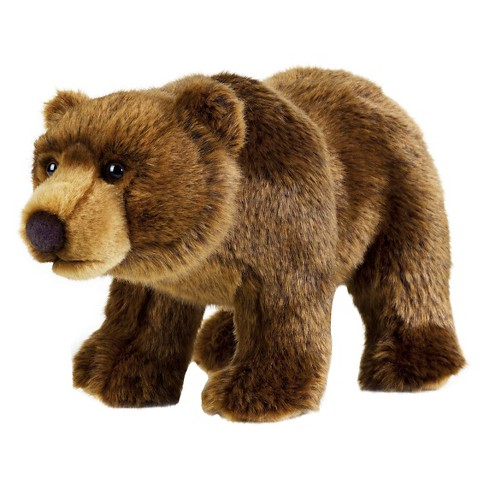 Lelly National Geographic Grizzly Bear Hand Puppet - image 1 of 1