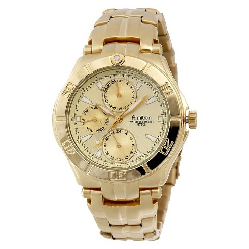 Armitron® Men's Gold Dress Watch - image 1 of 1