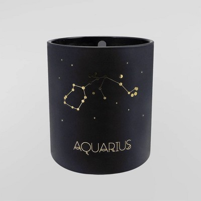 7.8oz Astrological Glass Jar Candle Aquarius - Project 62™