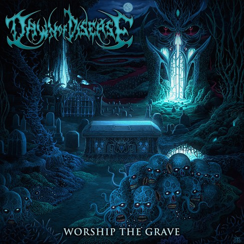 Dawn of disease - Worship the grave (CD) - image 1 of 1