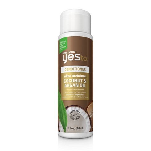 Yes to Naturals Ultra Moisture Coconut & Argan Oil Conditioner - 12oz - image 1 of 3