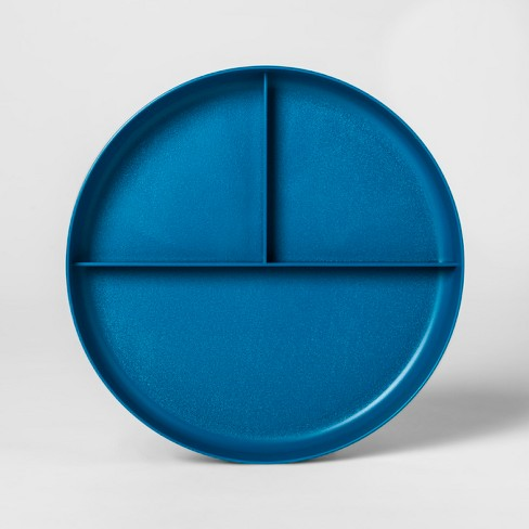 "7.3"" Plastic Divided Kids Plate - Pillowfort™ - image 1 of 2"