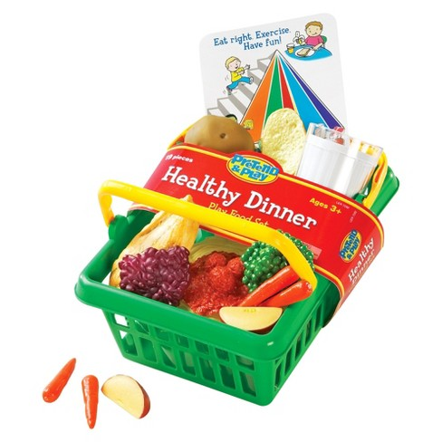 Learning Resources Healthy Dinner Basket - image 1 of 1