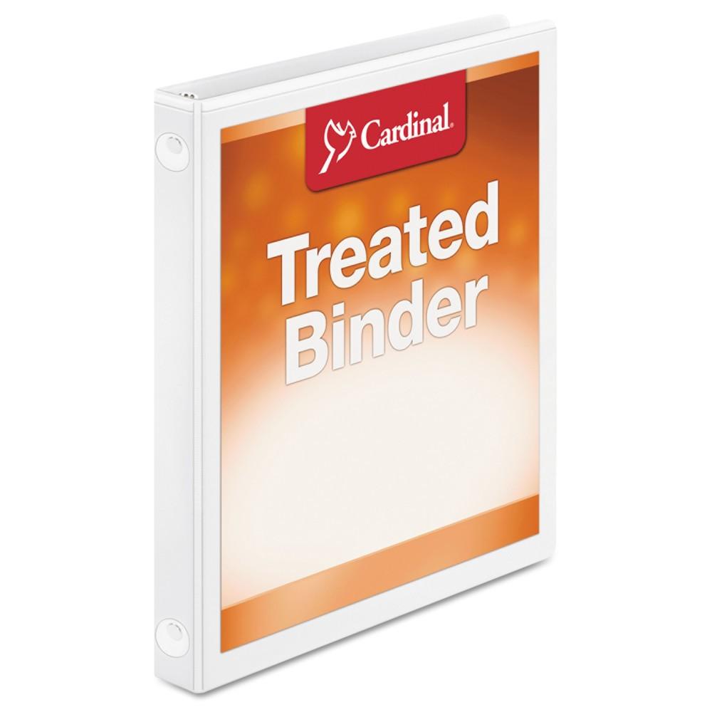 """Image of """"Cardinal 2pk .625"""""""" Ring Binder ClearVue Locking - White"""""""