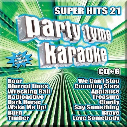 Various Artists - Party Tyme Karaoke: Super Hits, Vol. 21 (CD) - image 1 of 1