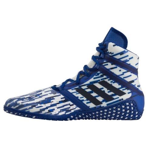 dc1fe1717701 Adidas Men s Impact Wrestling Shoes - Royal Digital   Target