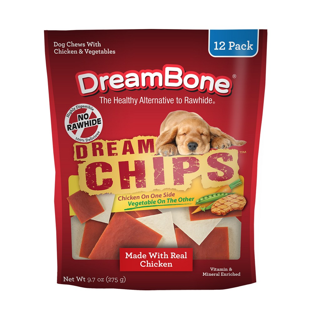 DreamBone Dog Chews DreamChips - 12pk