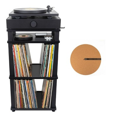 Andover Audio Spindeck Plug-and-Play Turntable Speaker System with Free Corkmat