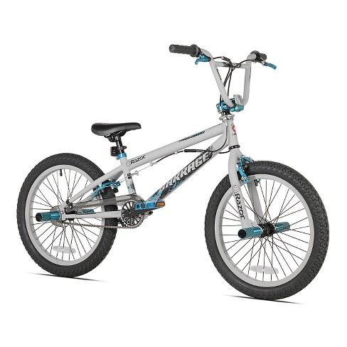 Kids Razor® Barrage Freestyle BMX Bicycle- Gray (20\