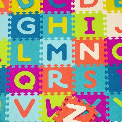 B. play - Alphabet Foam Tiles - Beautifloor - 26pc
