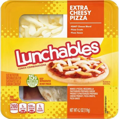 Oscar Mayer Lunchables Extra Cheesy Pizza - 4.2oz - image 1 of 4