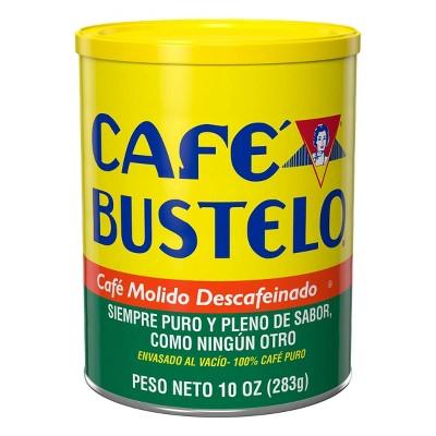 Café Bustelo Medium Roast Ground Coffee - Decaf - 10oz